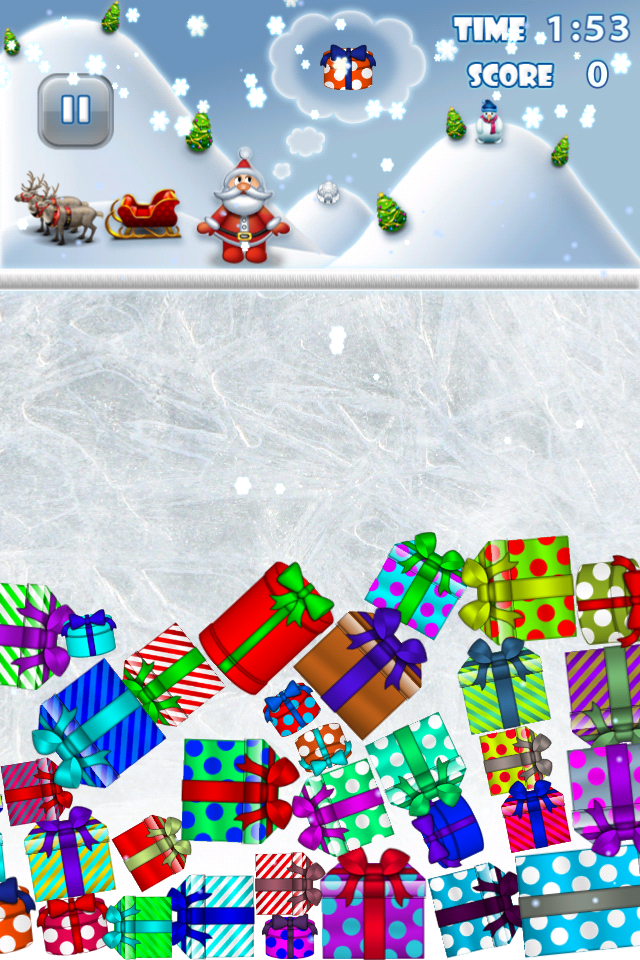 Screenshot Jingle Gifts