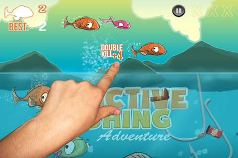 Screenshot Addictive Fishing Adventure